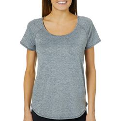 RBX Womens Heathered Jersey Knit Top
