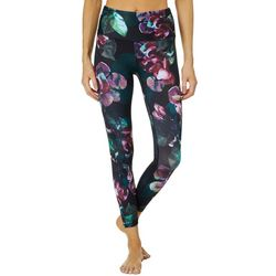 RBX Womens Floral Bouquet Print Crop Leggings