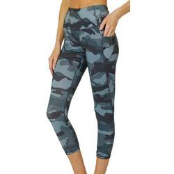 RBX Womens Camo Print Capri Leggings