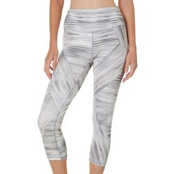 RBX Womens Streak Print Capri Leggings