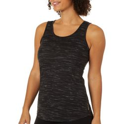 RBX Womens Striated Lattice Back Tank Top