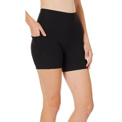 RBX Womens Short Solid Compression Bike Shorts