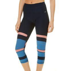 RBX Womens Colorblock Capri Leggings