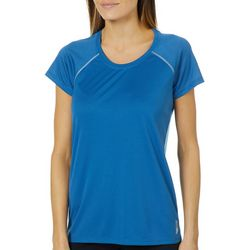 RBX Womens Solid Mesh Back Panel Top