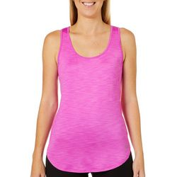 RBX Womens Space Dye Keyhole Back Tank Top