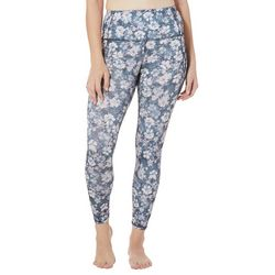 RBX Womens Floral Ankle Leggings