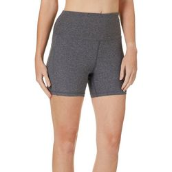 NYL Sport Womens Solid High Rise Short Bike