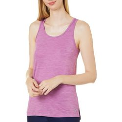 RB3 Active Womens Solid Keyhole Back Tank Top