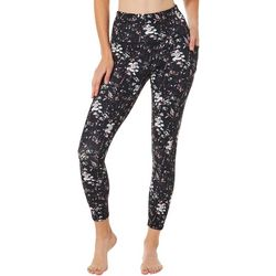 Sketchers Womens Go Flex Floral High Rise Crop Leggings