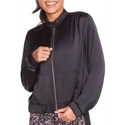 Skechers Womens Shine Time Bomber Jacket