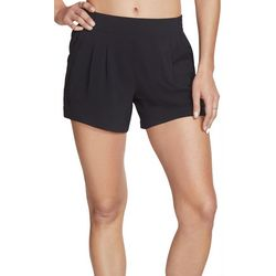Skechers Womens Solid Pleated Shorts