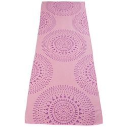 Great Bay Home Marrakesh Collection Medallions Yoga Towel