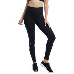 Marika Womens Juilet Laser Hole Panel Moto Ankle Leggings