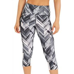 Marika Womens Ava Aeon Graphic Print Capri Leggings