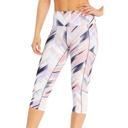 Marika Womens Ava Aeon Graphic Capri Leggings