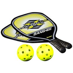 Franklin Sports Pickleball Pro Wooden Paddle & Ball Set