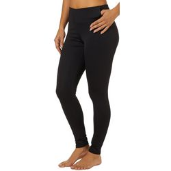 Copper Fit Womens Solid Lavender Infused Leggings
