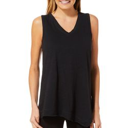 Life Worx by Gloria Vanderbilt Womens Solid Tank Top