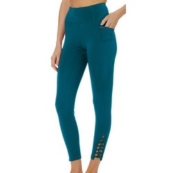 Nanette Lepore Womens Racey Lacey Ankle Leggings