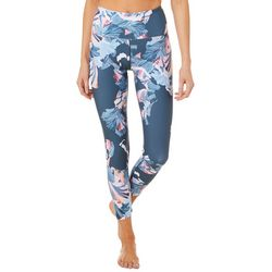 Nanette Lepore Womens Asagao Floral High Rise Crop Leggings