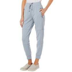 Nanette Lepore Womens Solid Seamed Jogger Ankle Pants