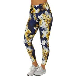 Love. Life. Live Womens Floral Print Crop Leggings