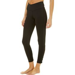 BCBG Womens Back Lace-Up Leggings