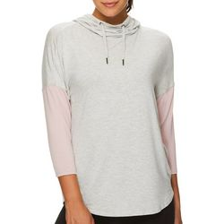 Gaiam Womens Ava Cowl Neck Batwing Hooded Sweatshirt