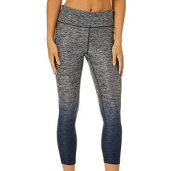 Gaiam Womens OM Dip Dye Capri Leggings