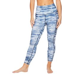 Gaiam Womens Tie Dye Side Pocket High Rise