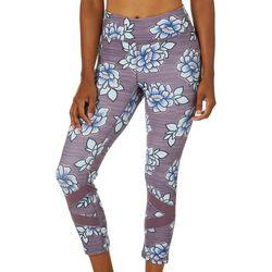 Gaiam Womens OM Align Cali Print Capri Leggings
