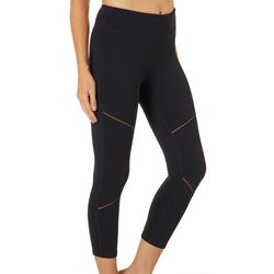 Gaiam Womens Illusion Solid Leggings