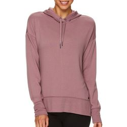 Gaiam Womens Harlow Heathered Hooded Sweatshirt