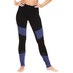 Gaiam Womens Hayden Colorblock High Rise Leggings
