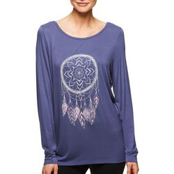 Gaiam Womens Hailey Dreamcatcher Long Sleeve Top