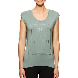 Gaiam Womens Don't Hate, Meditate Top