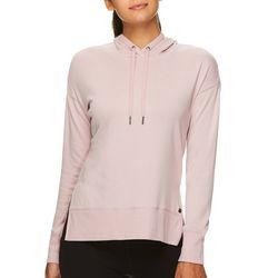 Gaiam Womens Harlow Solid Long Sleeve Hooded Sweatshirt