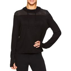 Gaiam Womens Maomi Mesh Hooded Sweatshirt