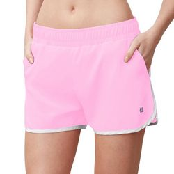 Fila Womens Contrast Trim Woven Performance Tennis Shorts