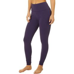 Spalding Womens High Rise Solid Ankle Leggings