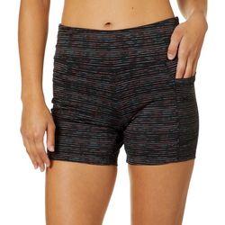 Spalding Womens Stripe Accent Bike Shorts