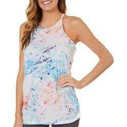 Spalding Womens Splatter Paint Racerback Tank Top