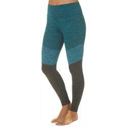 Spalding Womens Colorblock Heathered Leggings