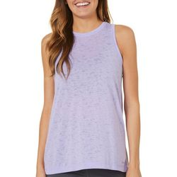 Spalding Womens Flyaway Burnout Split Back Tank Top