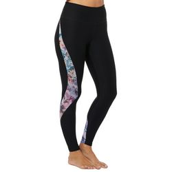 Spalding Womens Agility Floral Panel Crop Leggings