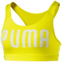 Puma Womens Power Shape Forever Logo Print Sports Bra