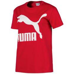 Puma Womens Classic Solid Logo T-Shirt