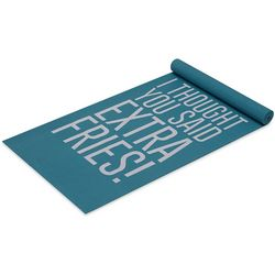 Well & Fit Womens I Thought You Said Extra Fries! Yoga Mat