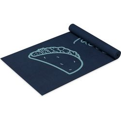 Well & Fit Womens I Do It For The Tacos Yoga Mat