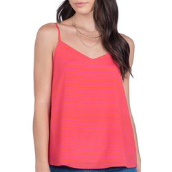 Everly Womens Stripe Tank Top